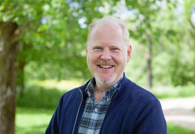 """""""Det klagas över viltskador i gröda men det finns nästan inga kvantitativa studier som fångar upp hur mycket som försvinner"""" säger Petter Kjellander."""