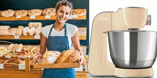 Baka Årets Landbröd – och vinn lyxig köksmaskin!