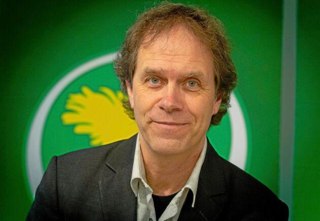 Pär Holmgren är Miljöpartiets andranamn i EU-valet på söndag.