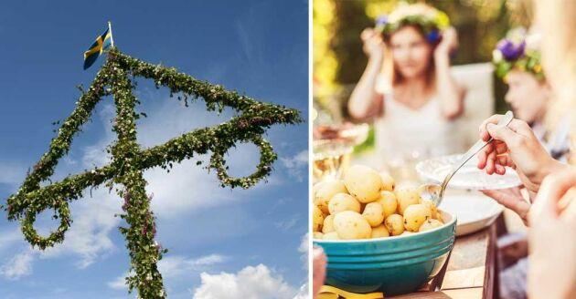 På några platser i Sverige är förutsättningarna extra bra för en trevlig midsommar, enligt Charlotta Mellander och Tina Wallins undersökning.