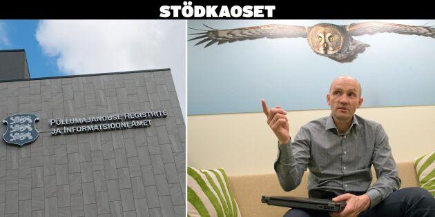 Estland betalar ut stödet i tid – till halva kostnaden