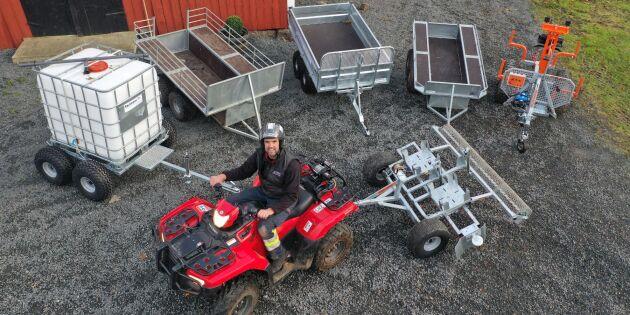 Experten testar: ATV-vagnar under lupp