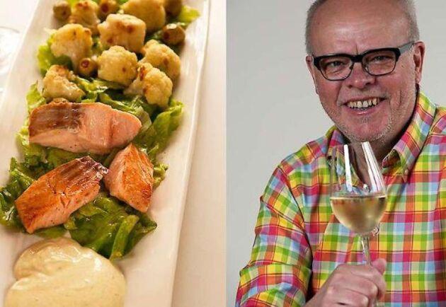 Våraktigt helggott med rostad blomkål och ett gott vitt vin till, tipsar Håkan Larsson om.