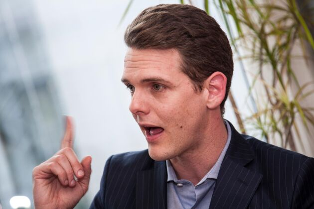 Christofer Fjellner, EU-parlamentariker för Moderaterna.