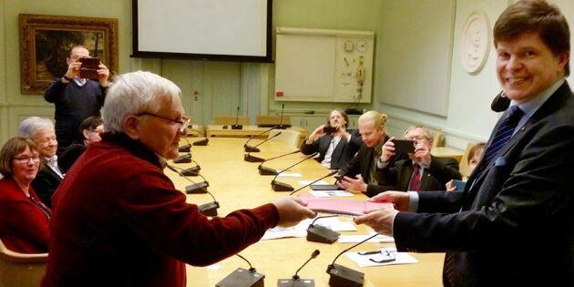 Striden för älvdalskan fortsätter – tas till riksdagen
