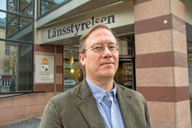 Peder Eriksson är chef för vatten- och naturmiljöenheten på Länsstyrelsen Örebro.