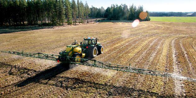 Jordbruksverket: Glyfosatförbud negativt för klimatet