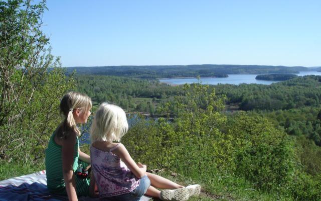 Utsikten från Hyltenäs kulle. Foto: Gunilla Esbjörnsson / vastsverige.com