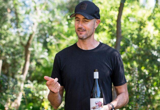 David Bowley, ägare av vingården Vinteloper i South Australia.