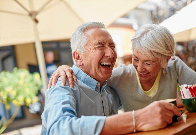 Skratta! Du blir garanterat gladare och mår bättre.