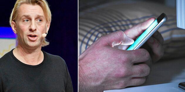 Experten: Så minskar du mobilens påverkan på din sömn
