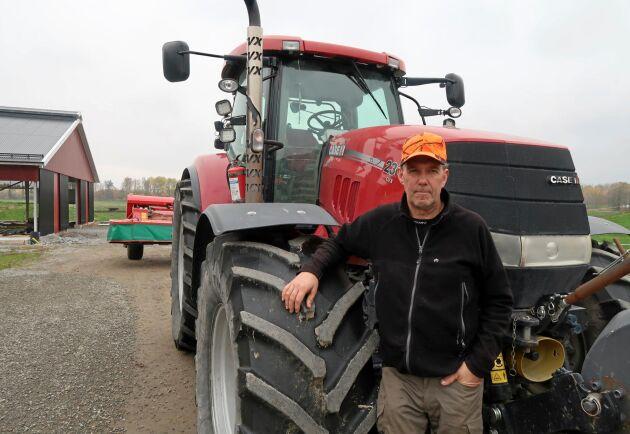 Stefan Gård, ordförande för Sveriges Mjölkbönder.