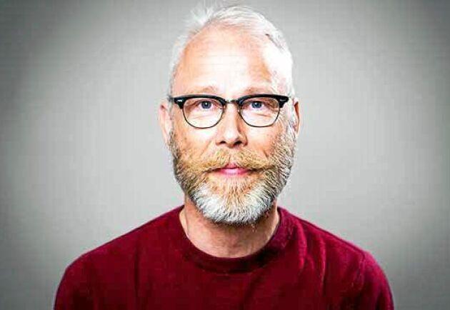 Rolf Edström, kommunikationschef på Norrskog.