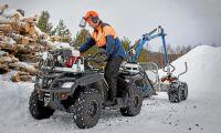 Uppåt för traktorregistrerade fyrhjulingar