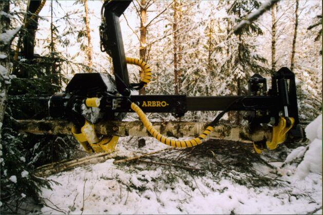 Arkivbild. Nystartade Maskinkraft satsar i första hand på försäljning och montering av av Arbro stegmataraggregat på grävare.