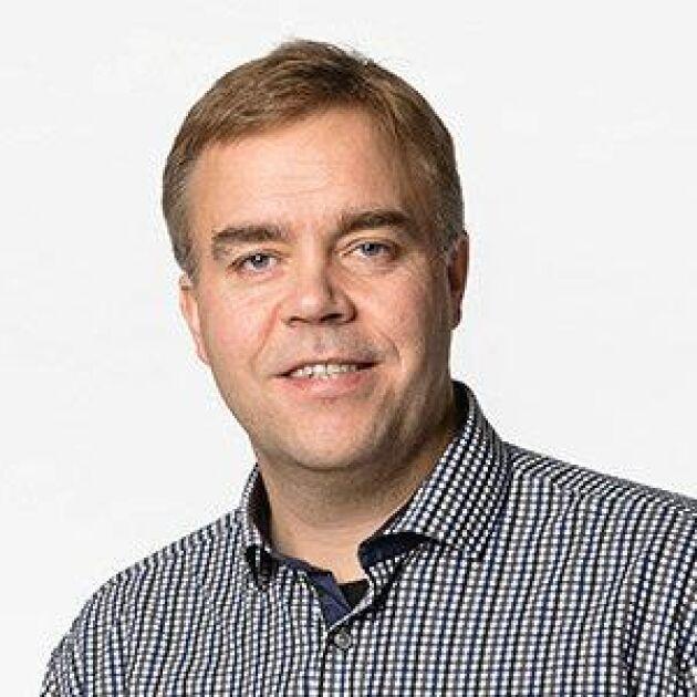 """""""Vi kommer inte skruva upp värdet på vår skog, utan fortsätter värdera efter våra principer"""", säger skogschef Henrik Mårtensson."""