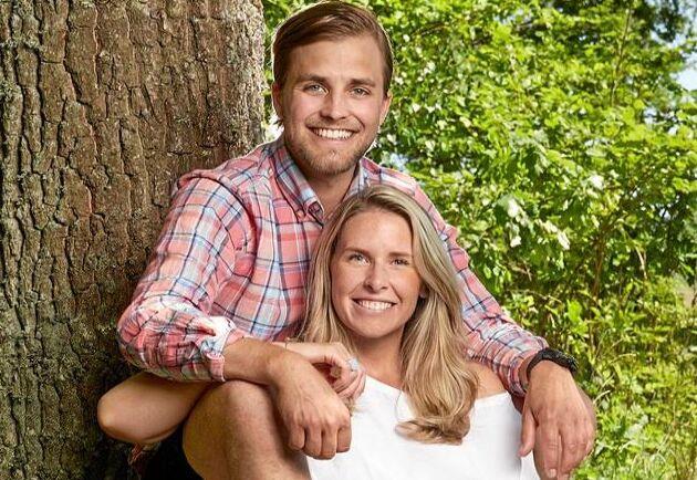 Caroline Kejbert och Joacim Rickling från Bonde söker fru har blivit föräldrar.