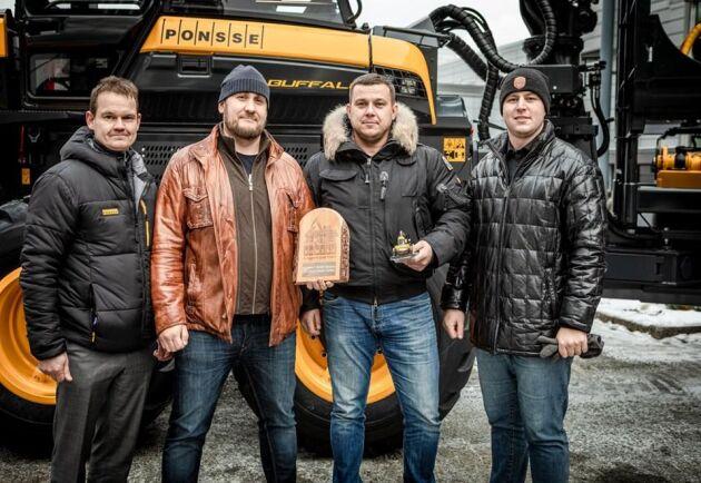 Ponsse nummer 15 000 har nu lämnat fabriken. Köpare är ett bolag i Sibirien.
