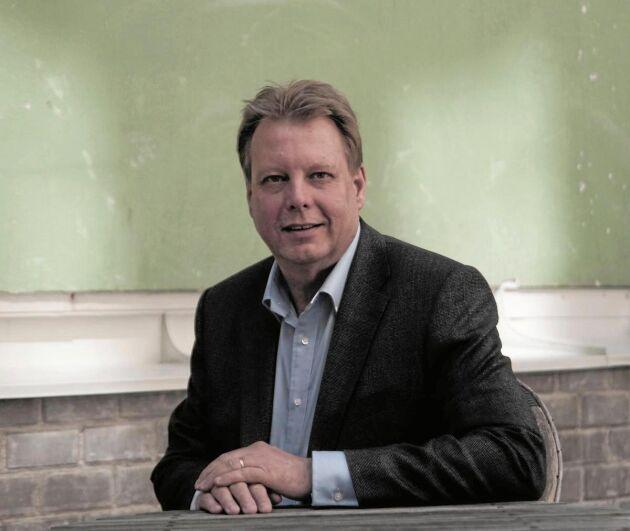 Björn Bäckström, VD för Maskinleverantörerna.