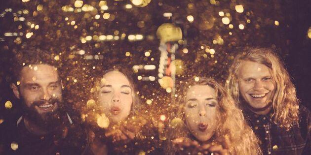Glitterguide för stressade: Så julpyntar du panikfritt!