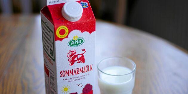 Nya bäst före-märkningen ska minska mjölksvinnet