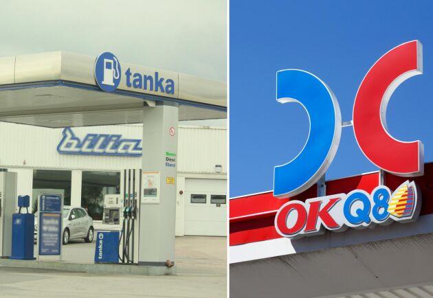 Nu kommer flera OKQ8- och Volvos Tanka-mackar att erbjuda HVO-100. Arkivbild.