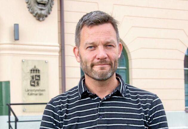 Henrik Andersson, enhetschef på vattenenheten på länsstyrelsen i Kalmar.