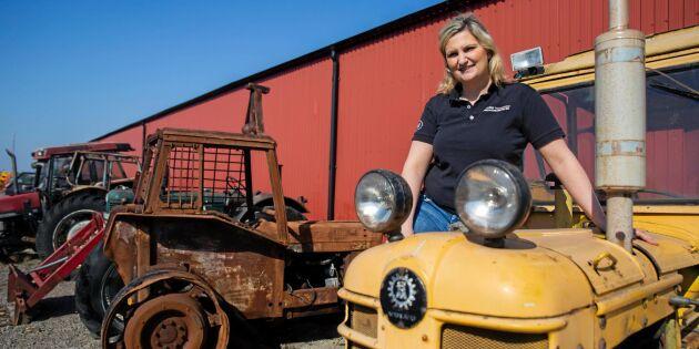 Traktorskroten – här får trasiga traktorer nytt liv