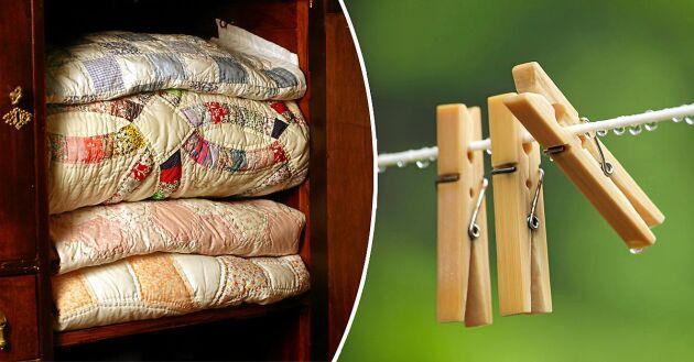 Regntvätt är ett säkert alternativ för textilier du är extra rädd om.