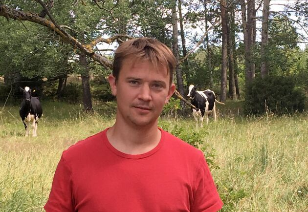 Erik Sjölander är en av de nio lantbrukare som fått sitt arrende uppsagt. Han tycker att Söderköpings kommun gick ut alldeles för hårt när de använde polis för att delge uppsägningen.