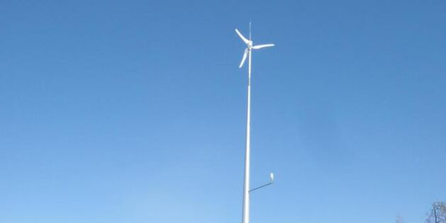 Så fungerar det med ett vindkraftverk i trädgården