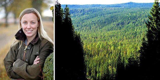 """""""Vi som äger skogen har format den"""""""