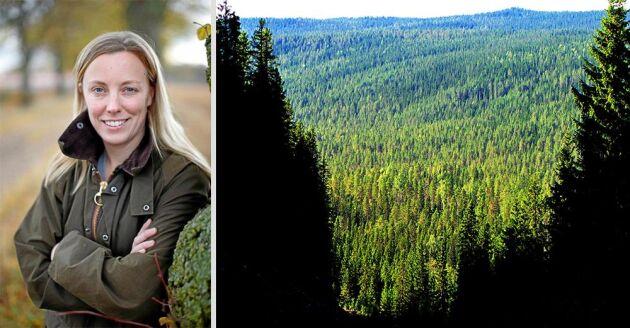 Naturvårdsskulden är något som Marit Bohlin tycker alla borde prata om och diskutera mer.