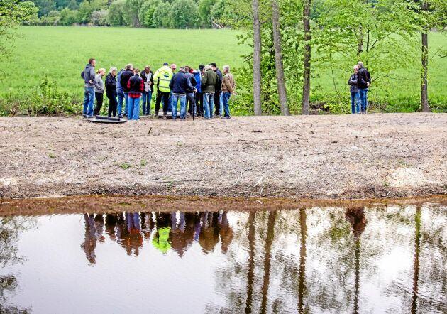 Slut på stödpengar till våtmarker i landsbygdsprogrammet.