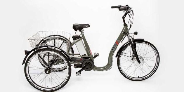 Avslutad: Vinn en praktisk elcykel värd 15 000 kronor