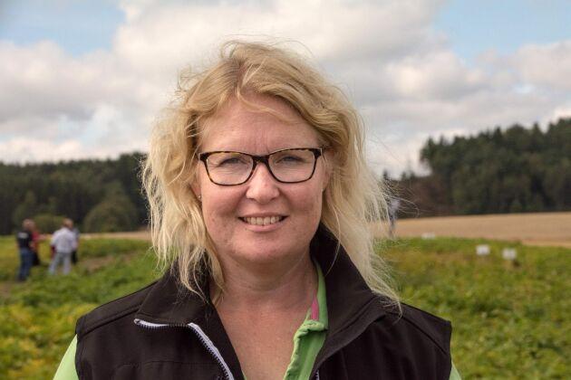 Om potatisodlarna inte får beta utsädet med neonikotinoider finns risk för kvalitetsförsämringar, menar Lisa Andræ.