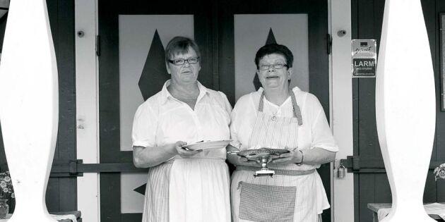 Yvonnes och Gunillas motti med fläsk och lingon