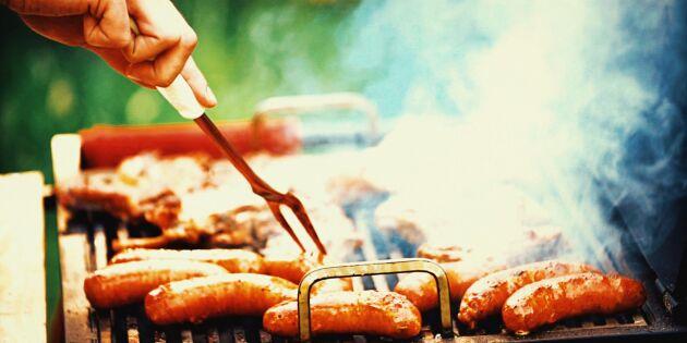 Lägg svenskt kött på grillen i sommar