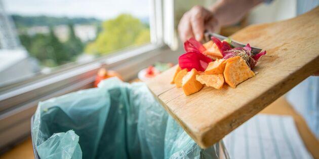 Enkla rutinerna som minskar matsvinnet