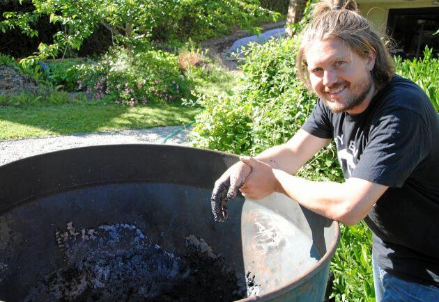 Till vardags jobbar Viktor Zaunders bland annat med projekten R:ekoby Röstånga och nätverket Food shift.