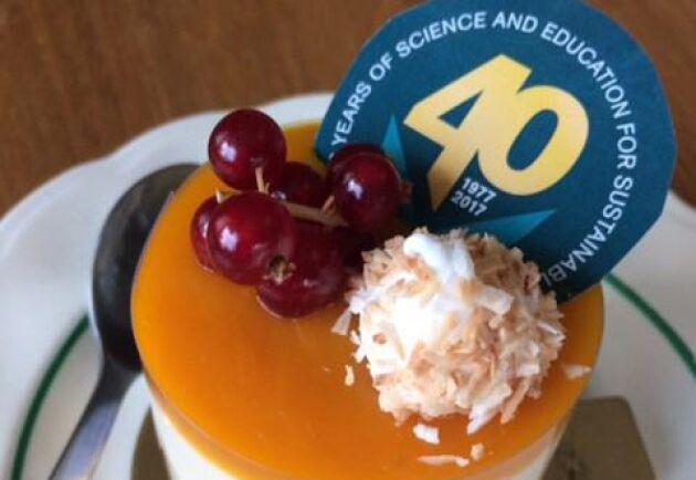 Den 1 juli fyller Sveriges Lantbruksuniversitet 40 år, men firandet får vänta till hösten.
