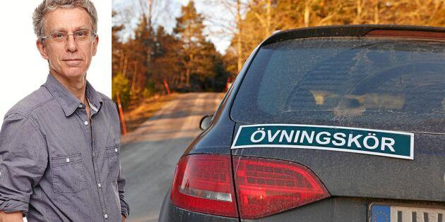 Krönika: Körkortsprov för äldre? Nej – men för unga män!