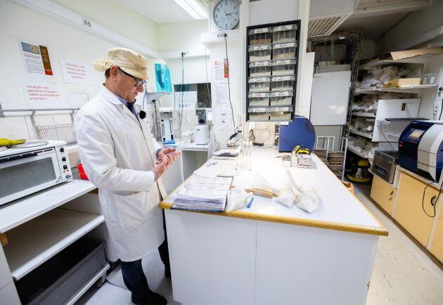 Falltal. I labbet testas också falltal i provrör. Det visar om mognadsgraden är rätt för att mjölet ska fungera optimalt.