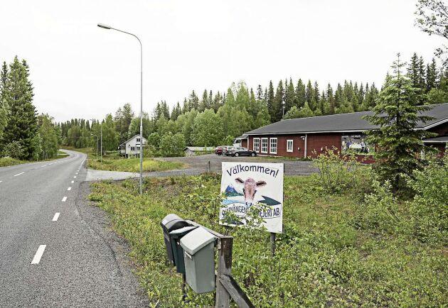 Åtta mil från Östersund på ena sidan av väg 340 ligger Skärvångens bymejeri. På andra sidan vägen i det grågröna huset ligger ostbutiken, som nu också tjänar som bostad för några av mejeristerna och lektionssal.