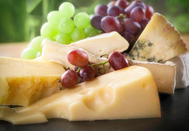 Ost är nyttigt - njut av olika sorter varje dag.