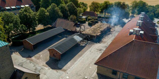 SLU: Branden påverkar inte utbildningarna