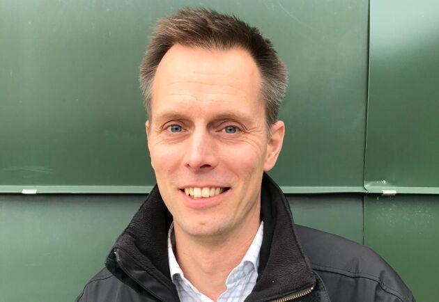 Andreas Jansson, en av Swedbank och Sparbankernas 207 skogsspecialister.