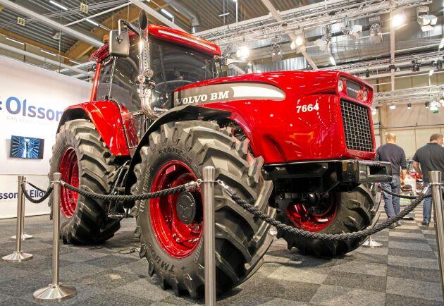 På Elmia visades Olssons i Ellös vision om hur en Volvo BM kunde ha sett ut om de fortsatt med traktortillverkningen.