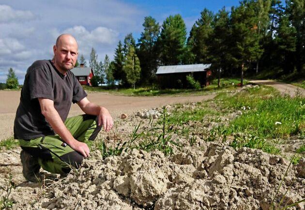 """""""Vi fick ett besked om konkursen där de skriver och tackar för vårt tålamod men det tog slut för två år sedan"""", säger Anders Persson."""
