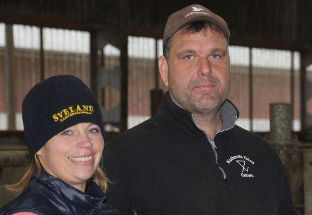 Paret har drivit gården sedan 2001, då Christer tog över sitt föräldrahem. Då var det en mjölkgård med 25 kor och 30 hektar. I dag har de cirka 500 nötkreatur och brukar 250 hektar.